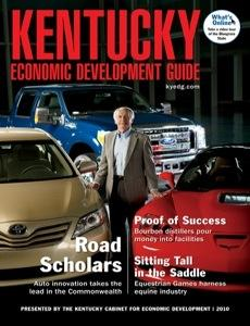 Kentucky Economic Development magazine cover
